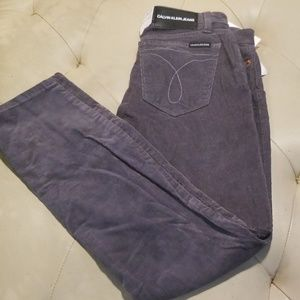 Calvin Klein grey shadow Jean's sz 6